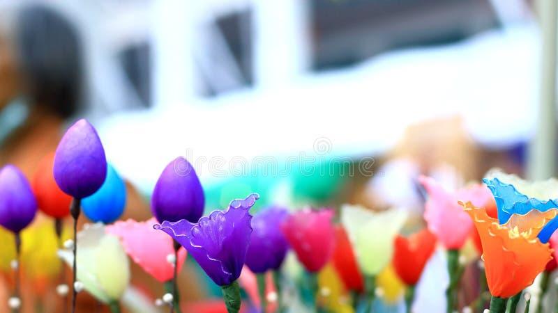 Рынок цветка в Таиланде стоковое изображение rf