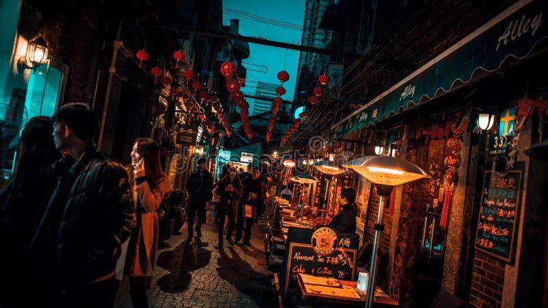 Рынок Шанхая стоковое изображение rf