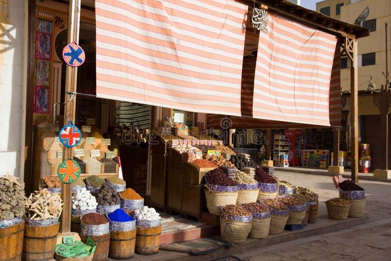 рынок aswan Египета стоковые изображения rf