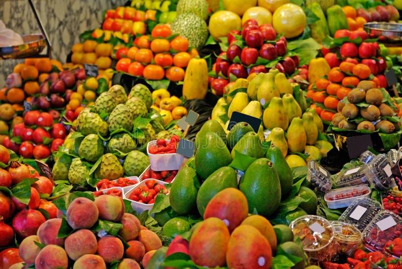 рынок barcelona стоковое изображение rf