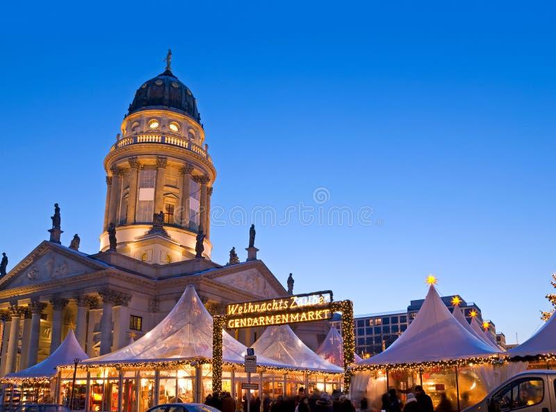 Рынок berlin рождества стоковое фото rf