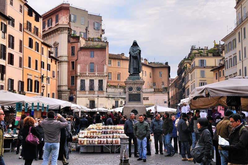 рынок campo di fiori стоковые изображения