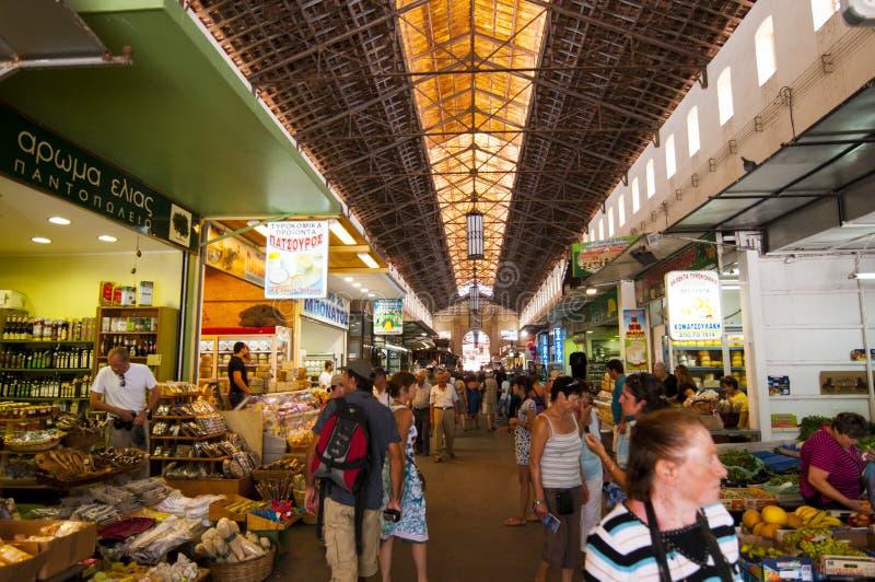 Рынок Chania стоковое изображение rf