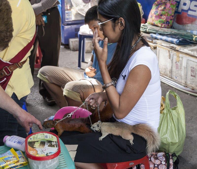 Рынок Chatachuk в Бангкоке стоковое фото