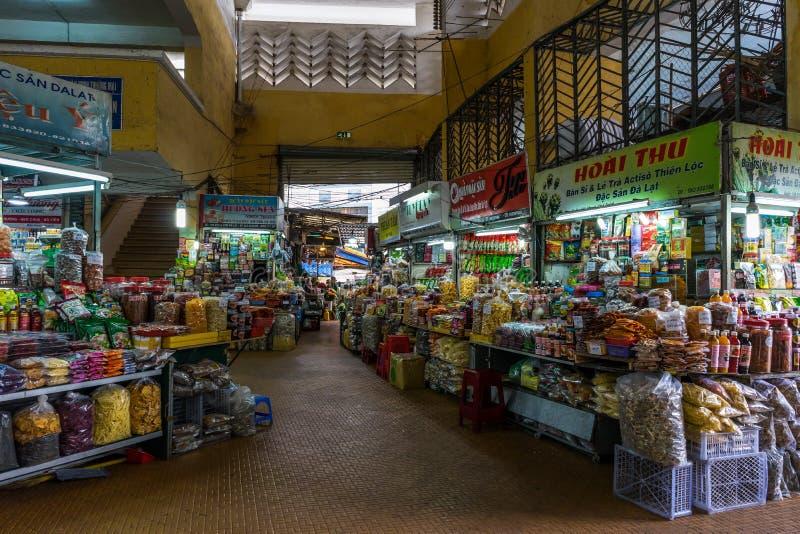 Рынок Dalat стоковое изображение rf