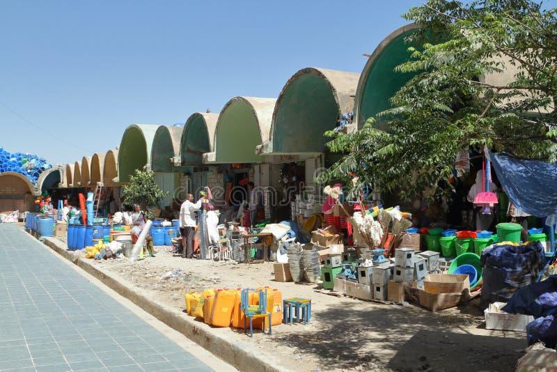 Рынок Hall Mekele в Эфиопии стоковые фото