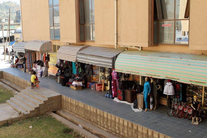 Рынок Hall Mekele в Эфиопии стоковая фотография rf