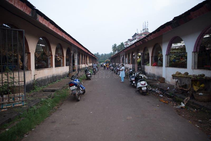 Рынок Margao стоковое изображение