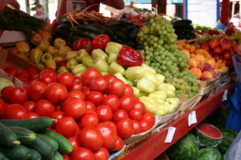 рынок mediteranian стоковые изображения rf