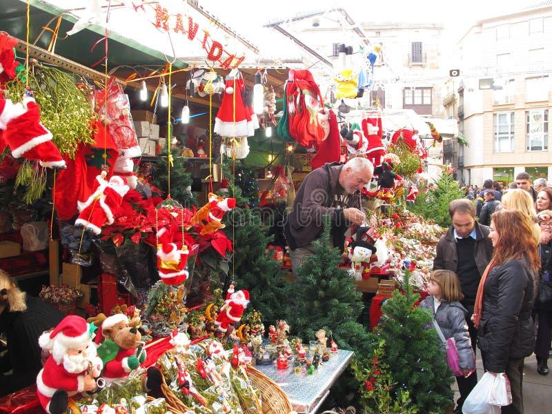 рынок santa llucia barcelona стоковая фотография