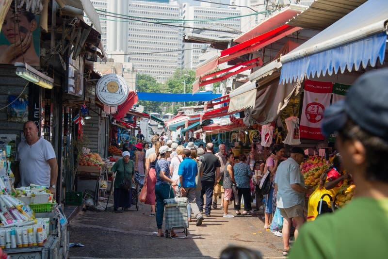 Рынок Shuk HaCarmel 1 Тель-Авив Carmel стоковое изображение rf