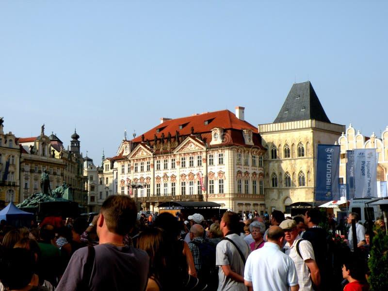 Рыночная площадь в Праге 8 стоковое изображение rf