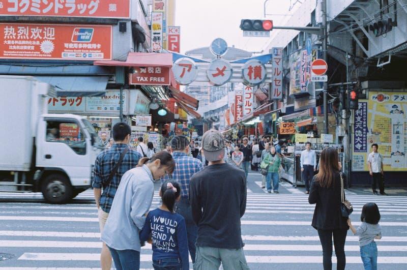 Рыночное месте Ameyoko стоковое изображение