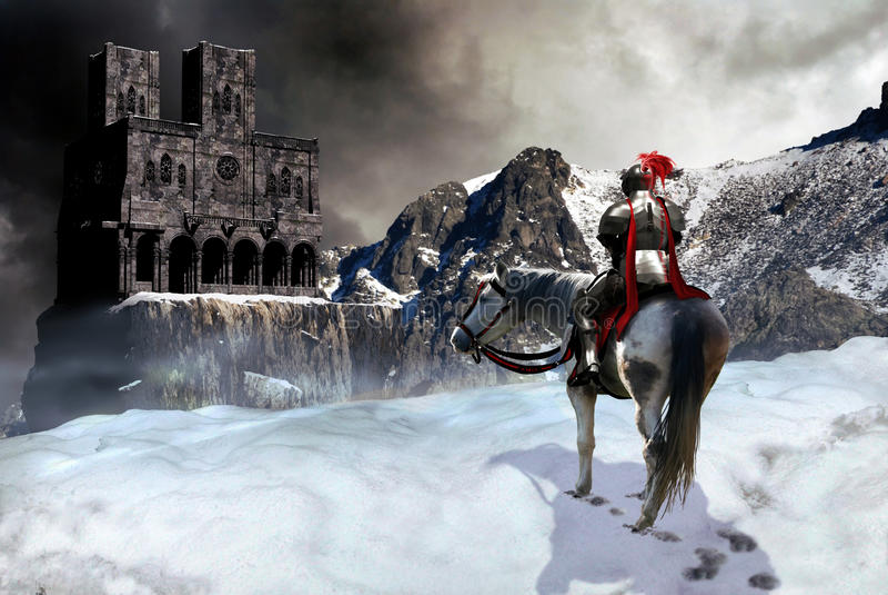 рыцарь замока бесплатная иллюстрация