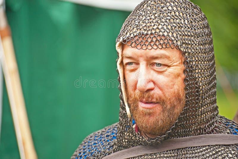 рыцарь замока brodie средневековый стоковые фотографии rf