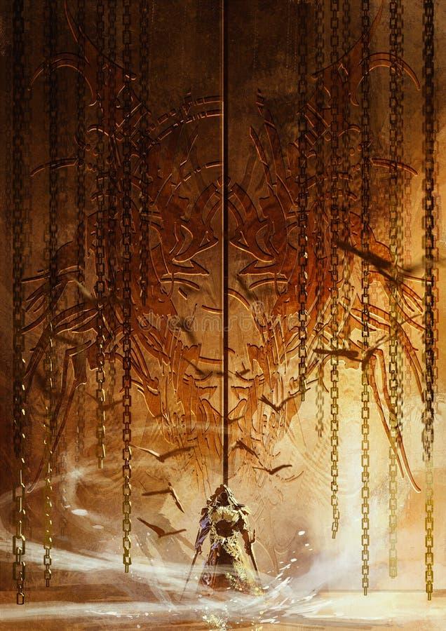 Рыцарь привратника бесплатная иллюстрация