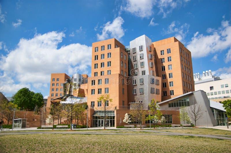 Рэй и MIT центра Марии Stata стоковое изображение