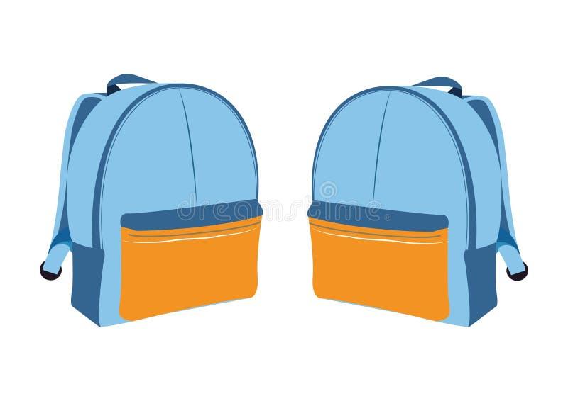 Рюкзак значка стоковые изображения rf
