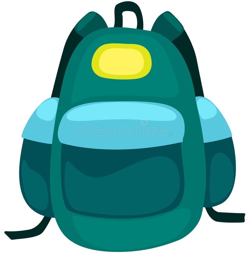 рюкзак мешка иллюстрация штока