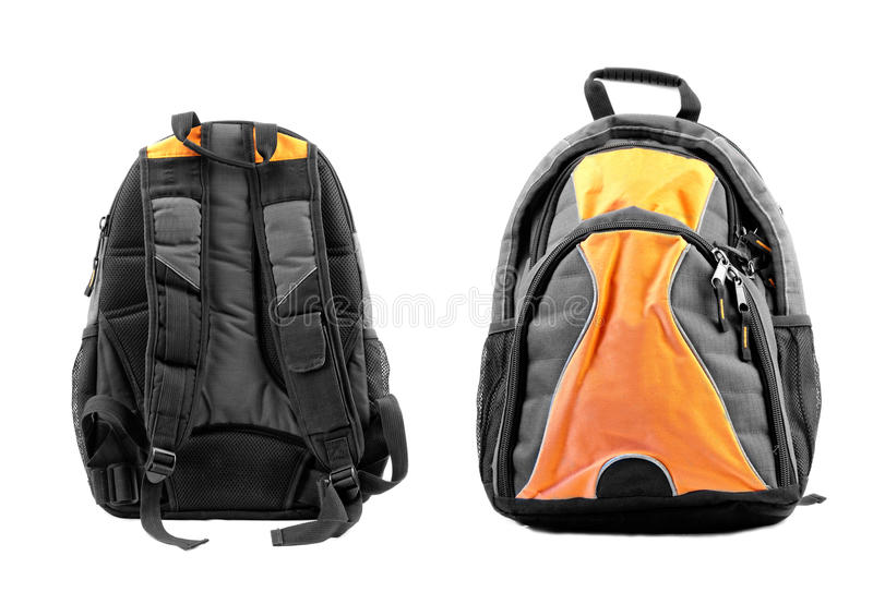 Рюкзак школы стоковые изображения rf