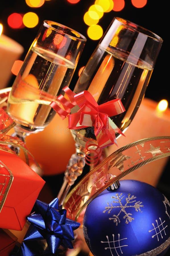 рюмки шампанского стоковые изображения rf