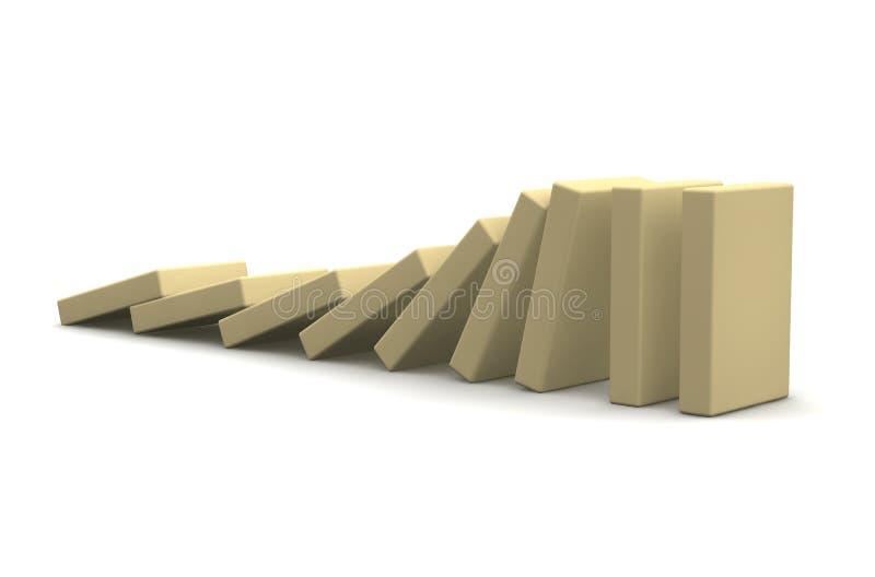 рядок блоков бежа понижаясь бесплатная иллюстрация