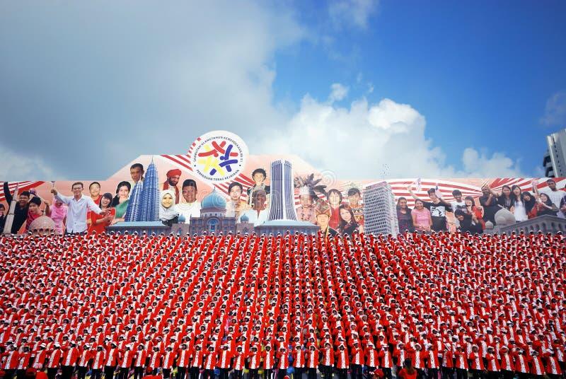 рядок толпы стоковая фотография rf