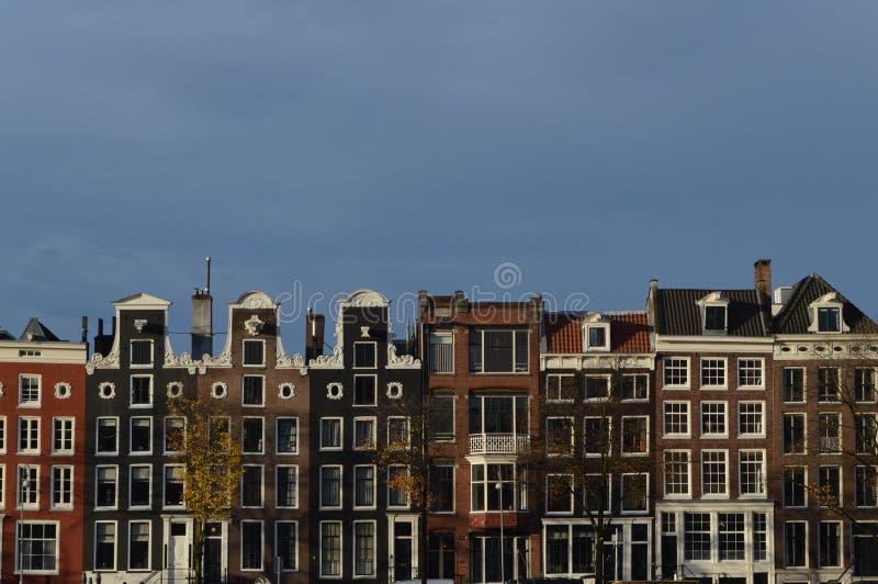 Ряды каналов, Амстердам, Нидерланды стоковая фотография rf