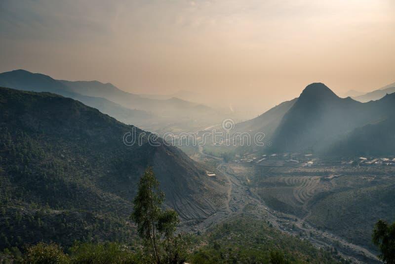 Ряд Пакистан Гиндукуша стоковая фотография rf