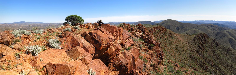 Ряды Gammon, южная Австралия стоковая фотография