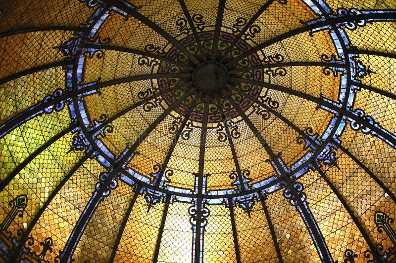 саванна залы Georgia города rotunda стоковые изображения