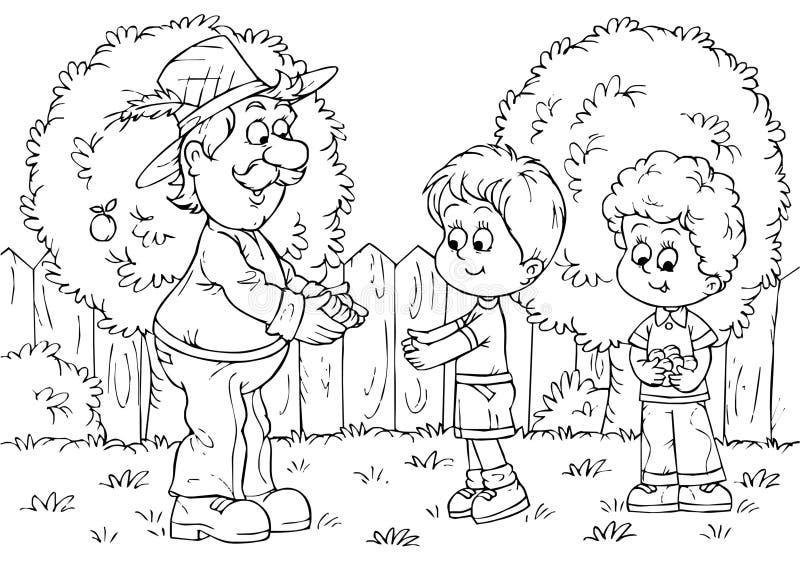 садовник бесплатная иллюстрация