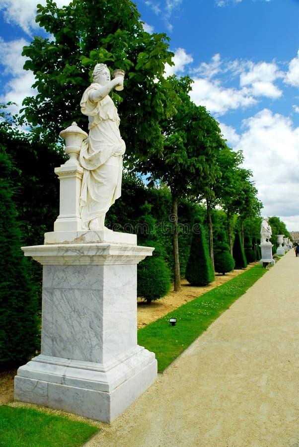 садовничает versailles стоковое изображение