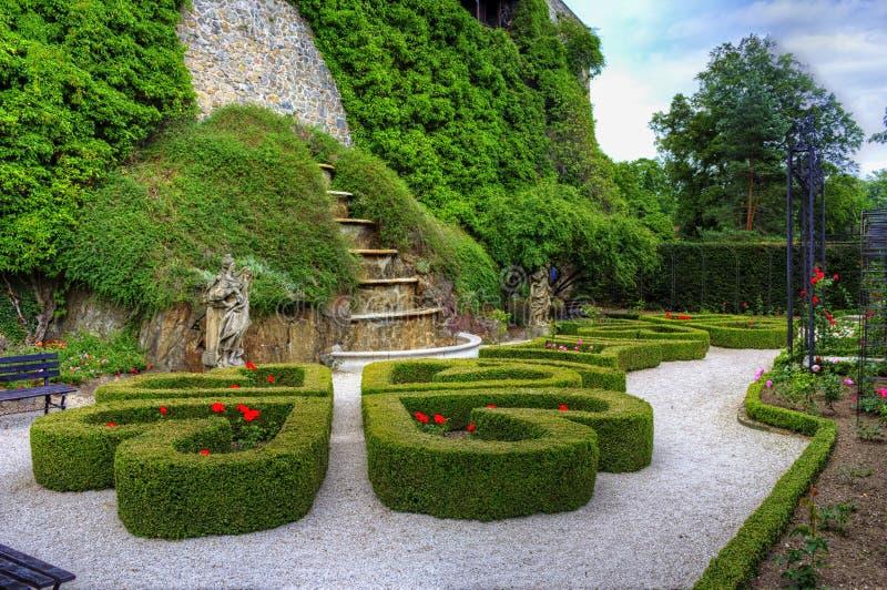 Сады Ksiaz задние стоковые изображения rf