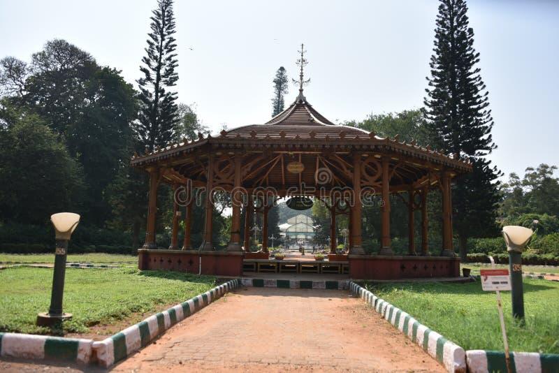 Сады Lalbagh ботанические, Бангалор, Karnataka стоковое фото rf