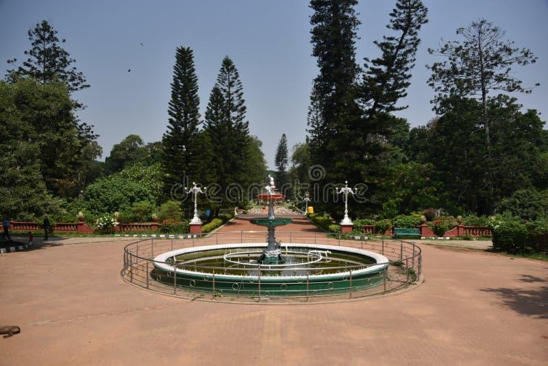 Сады Lalbagh ботанические, Бангалор, Karnataka стоковые изображения rf