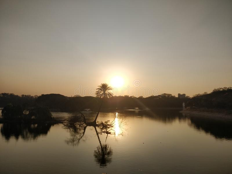 Сады Lalbagh ботанические в Бангалоре стоковые фотографии rf