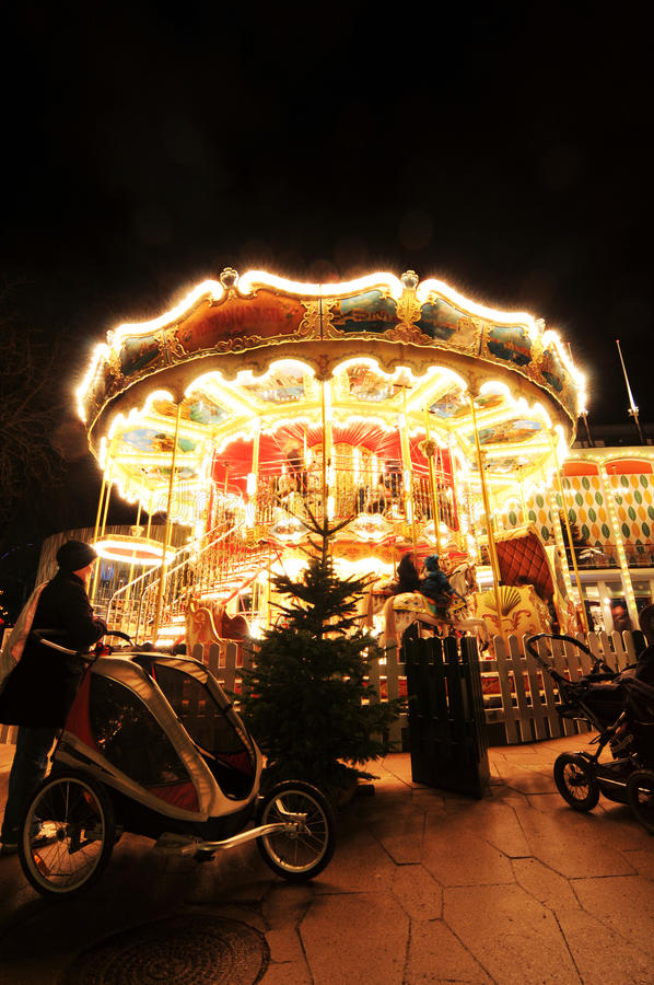 Сады Tivoli, Копенгаген стоковое изображение
