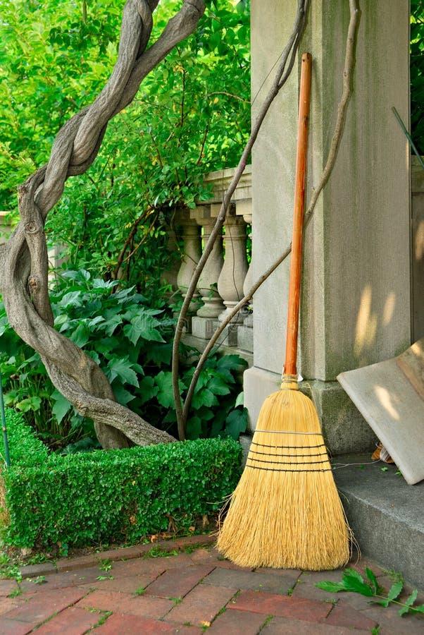 сад веника стоковая фотография
