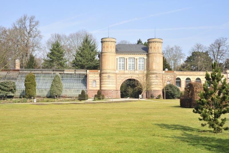 Сад дворца Карлсруэ стоковая фотография