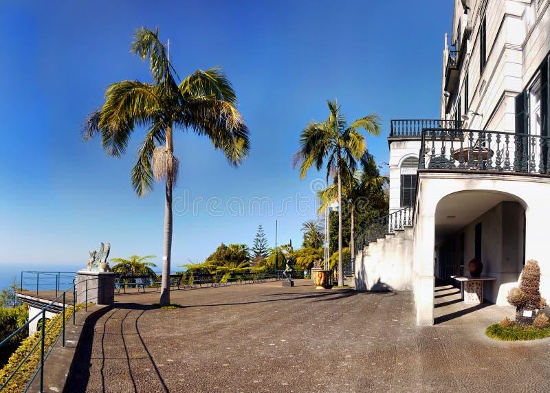 Сад дворца Monte тропический, Фуншал, Мадейра, Португалия стоковые фотографии rf