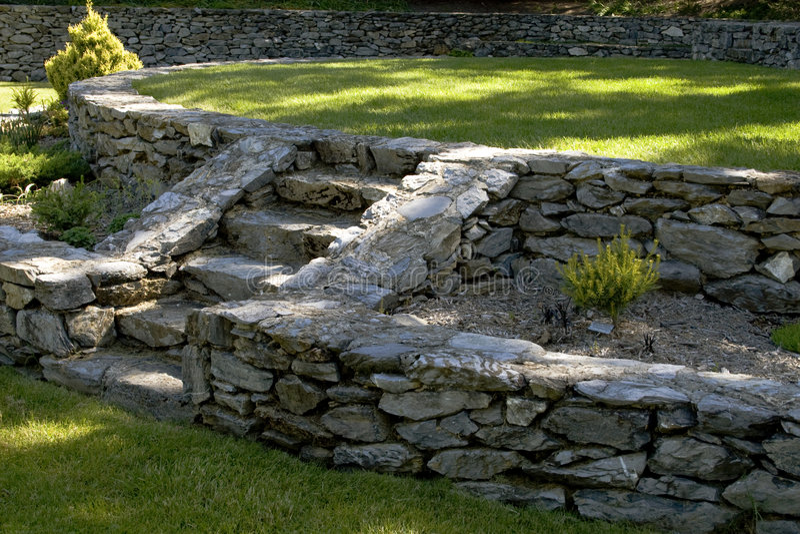 сад зодчества стоковое изображение