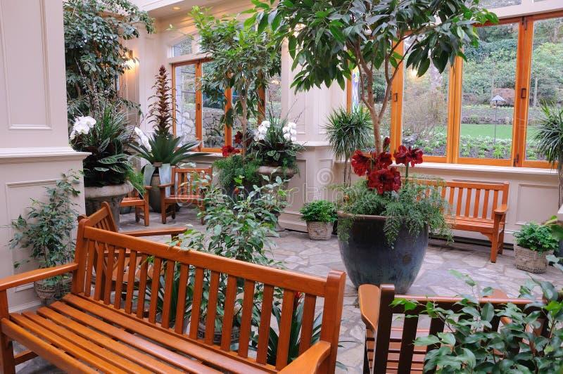 сад крытый стоковое фото