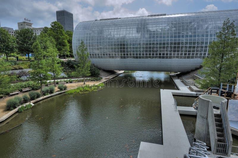 Сад мириад Оклахома-Сити ботанический стоковая фотография rf