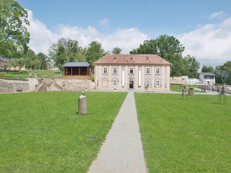 Сад монастыря, памятник заказа st Венедикта стоковые фото