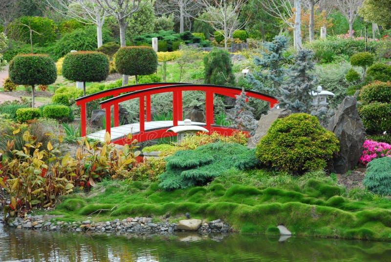 сад моста стоковое изображение