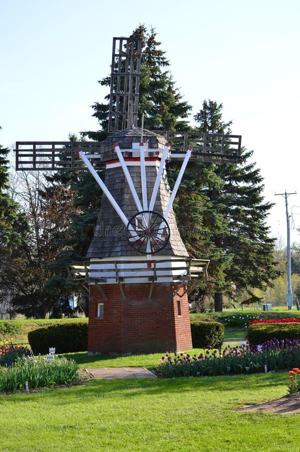 Сад острова ветрянки стоковое фото rf