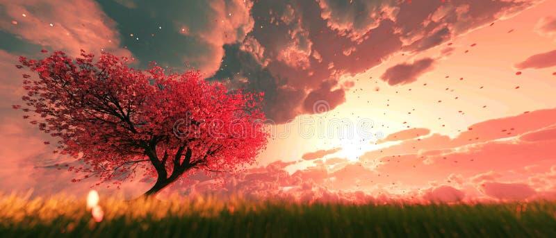 Сад рая бесплатная иллюстрация