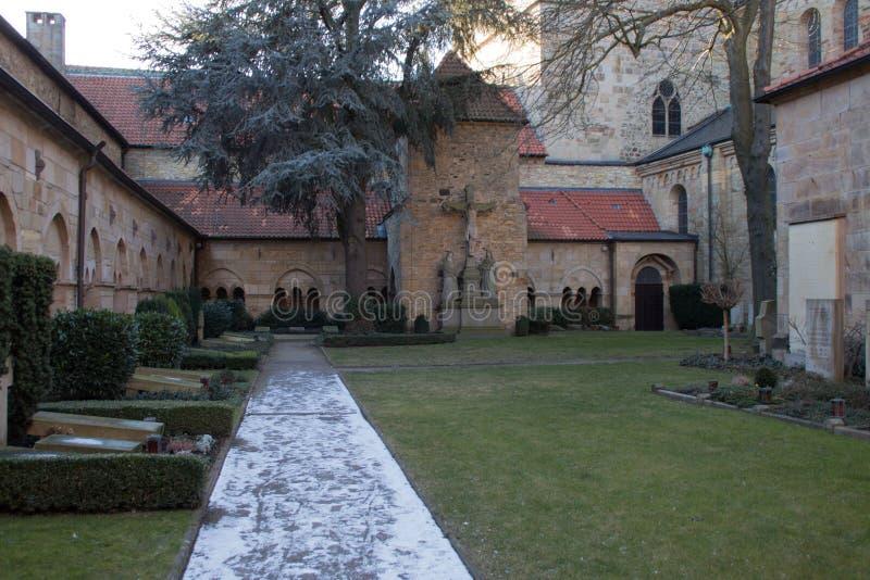 Сад собора в ¼ ck Osnabrà стоковые изображения