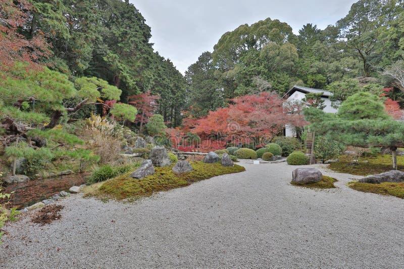сад Autam в виске Konkai Komyoji стоковые фото